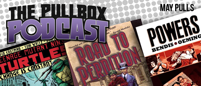 Turtles! Gangsters! Detectives! Find Them All in Our May Pulls!